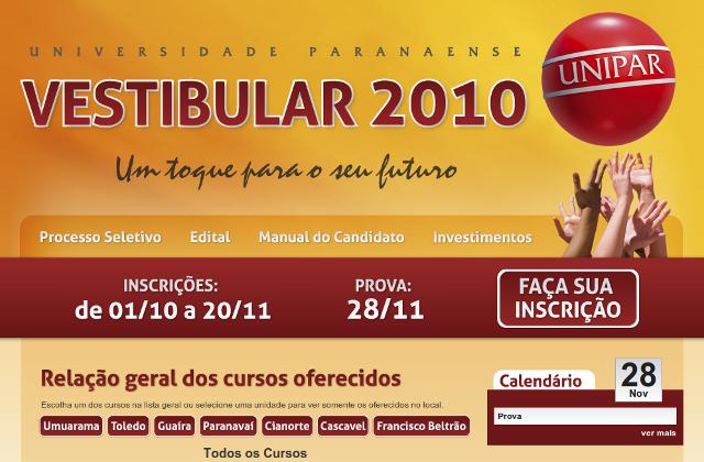 Vestibular 2010